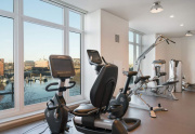 Steller waterfront views from Lovejoy State of Art Gym